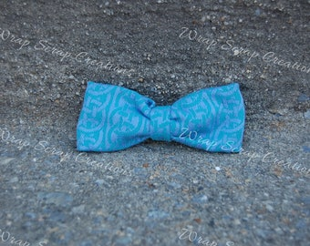 Oscha Wrap Scrap Bow Tie/Hair Bow