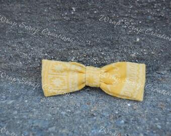 Ellevill Wrap Scrap Bow Tie/Hair Bow