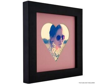 Pink Black Frame Etsy