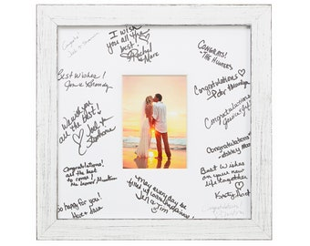 Reunions Baby Showers 18x24 Black Signature and Autograph Picture Mat for 11x14 picture Weddings Pack of 5 Matting Only