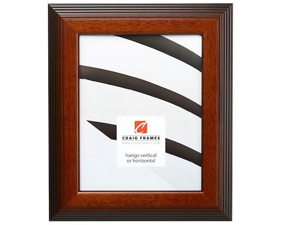 Craig Frames 11x14 Inch Chestnut Brown Picture Frame Bisbee Etsy