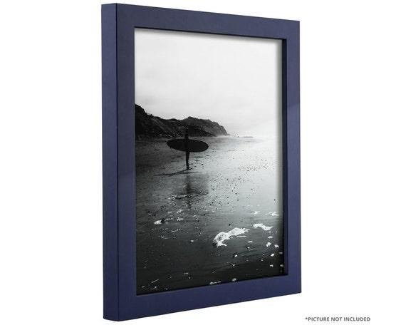 Craig Frames 24x36 Inch Navy Blue Picture Frame .75