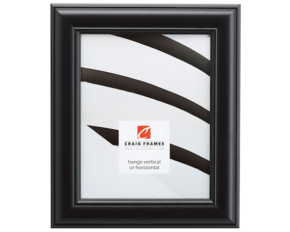 Craig Frames 22x28 Inch Satin Black Picture Frame Dakota