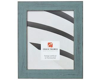 "Jasper, Rustic Dixie Grey Picture Frame, 1.5"" Wide, 70 Sizes (B925) Craig Frames"