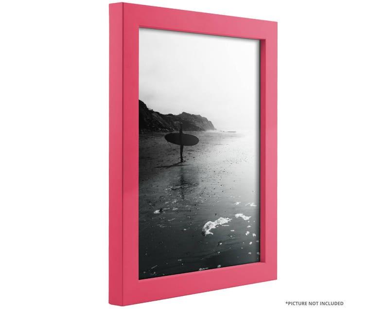14x20 Inch Modern Raspberry Pink Picture Frame Craig Frames 1406471420 Confetti .875 Wide