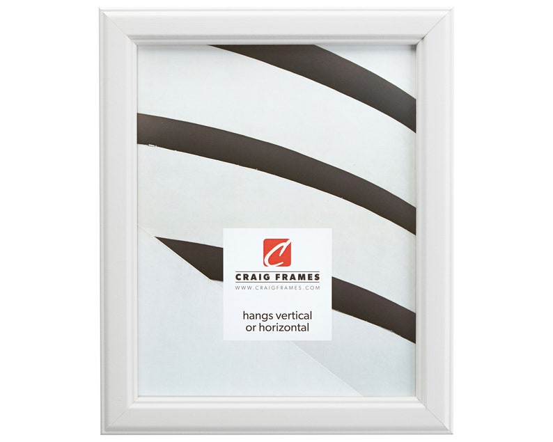 Wiltshire 434 434WH1217 Craig Frames 1 Wide 12x17 Inch White Picture Frame