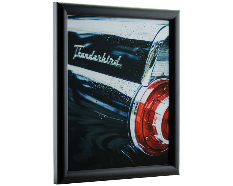 FW2BK2027 Bullnose 20x27 Inch Contemporary Black Picture Frame Craig Frames