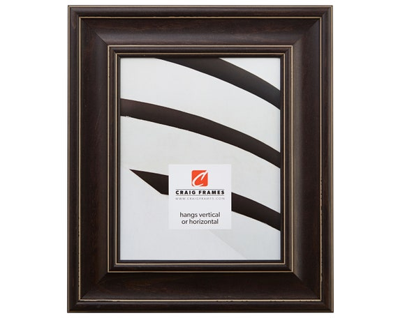 Craig Frames 16x24 Inch Charcoal Brown Picture Frame Etsy