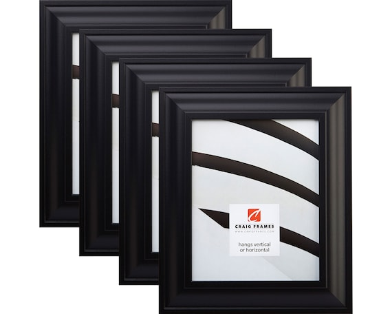 Craig Frames 10x13 Inch Black Picture Frame Set Contemporary Etsy