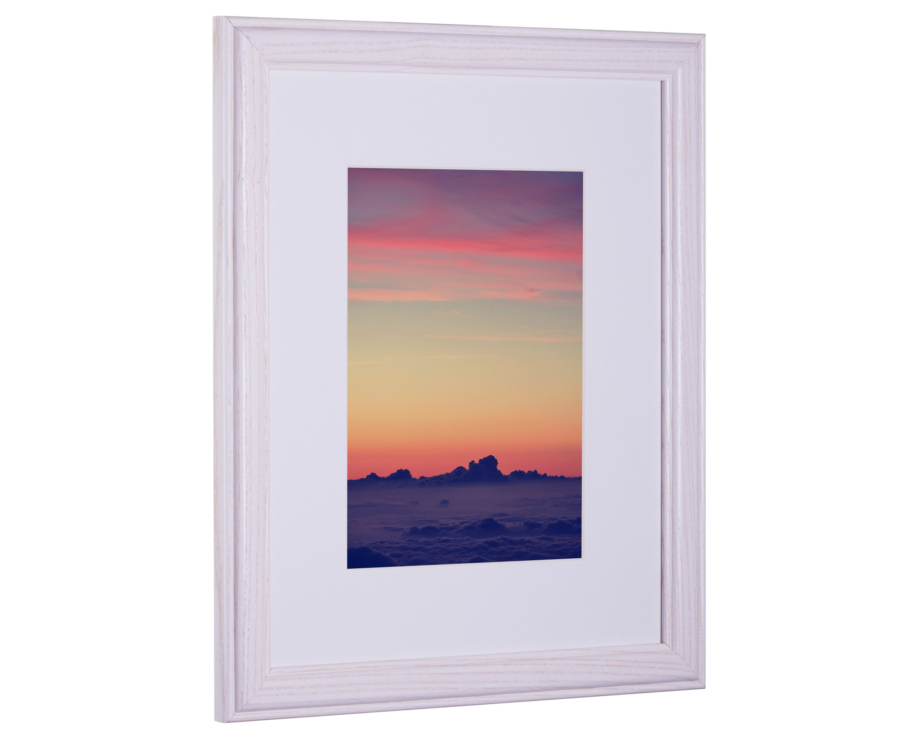 Craig Frames 10x13 Simple White Hardwood Picture Frame With Etsy
