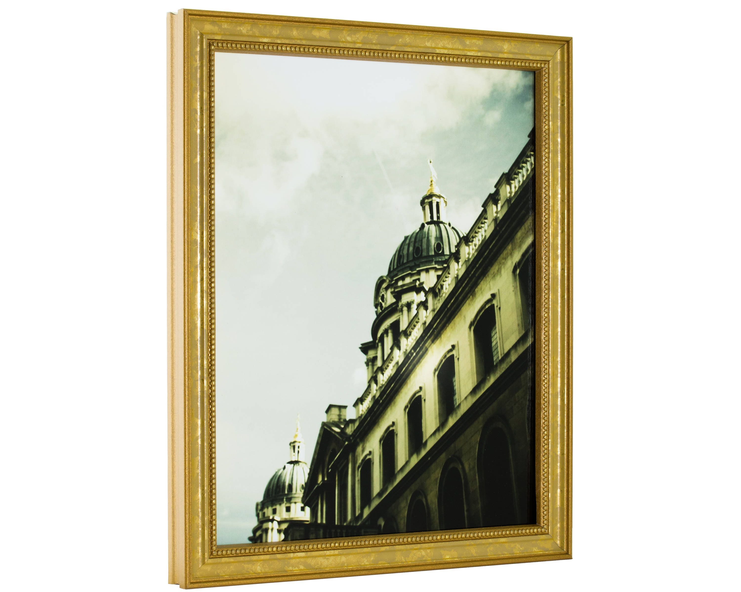 Craig Frames, 20x30 Inch, Aged Gold Picture Frame, Stratton .75 ...