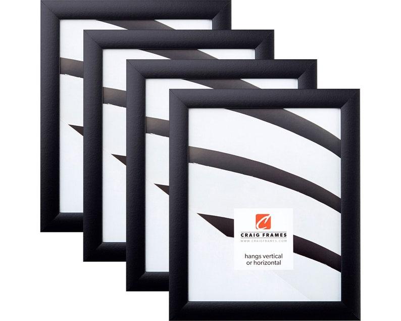 1WB3BK2430 24x30 Inch Modern Black Picture Frame Craig Frames Contemporary 1 Wide