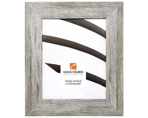 Craig Frames 16x20 Inch Gray Barnwood Picture Frame Bauhaus