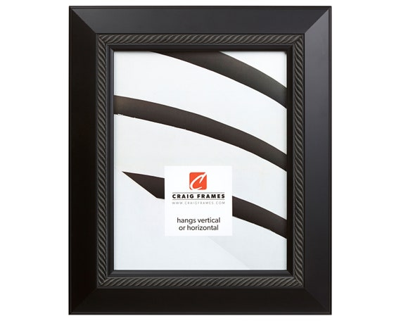 ornate black picture frames silhouette image craig frames 11x14 inch ornate black picture frame etsy