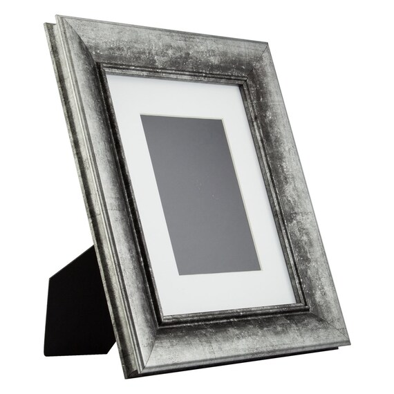 Craig Frames 8x10 Inch Vintage Silver Standing Picture Frame Etsy