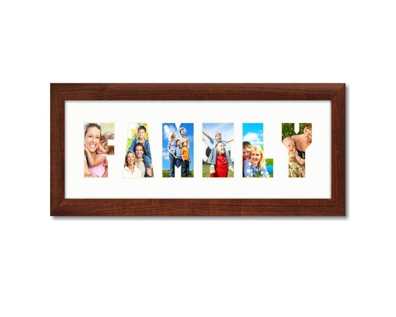 Craig Frames 6x18 Modern Brown Picture Frame with
