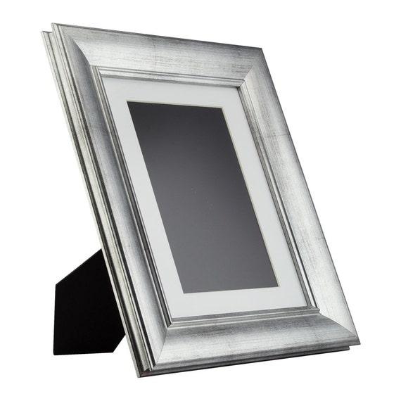 """1.5/"""" Brushed Silver Picture Frame Craig Frames Verandah"""
