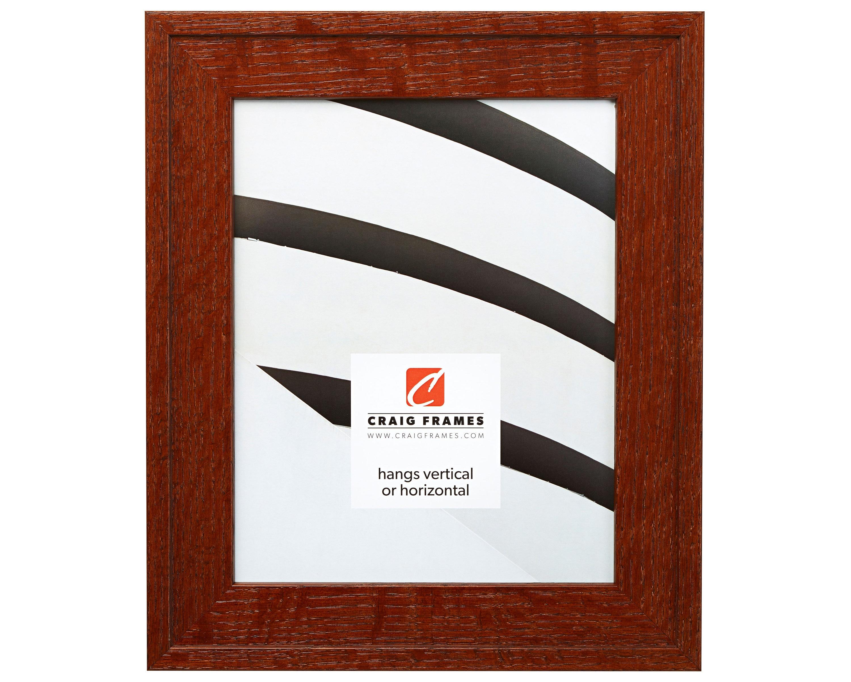 Craig Frames, 12x18 Inch Dark Brown Solid Quartersawn Oak Wood ...