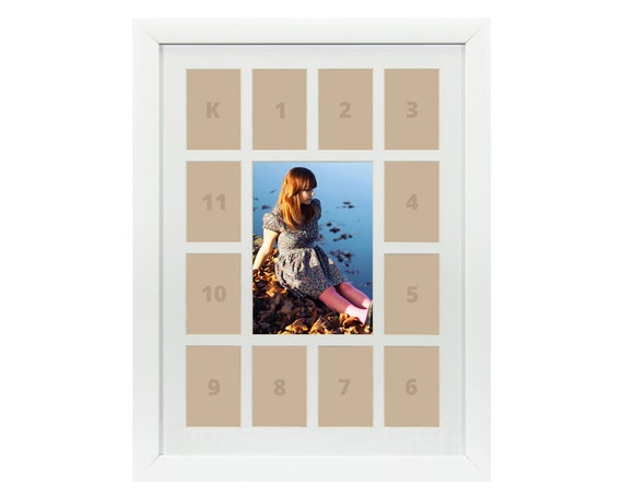 Craig Frames, 12x16 Inch White School Years Frame, Single White ...