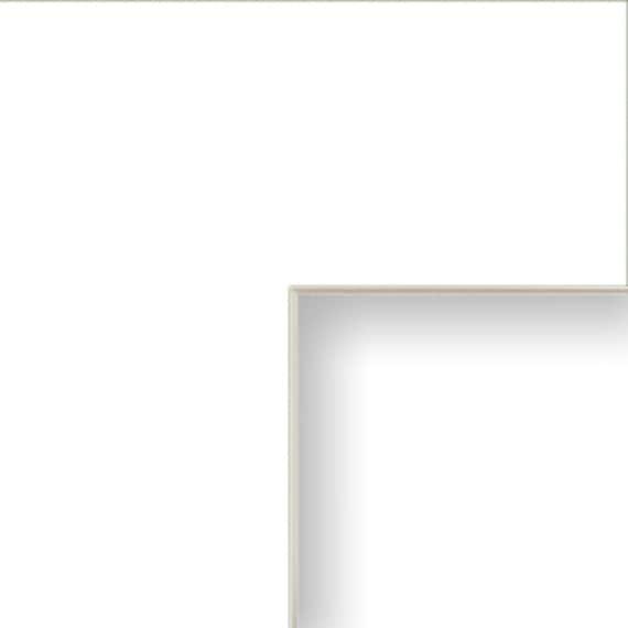14x20 Inch Mat 11x17 Inch Single Opening Crisp White With Cream Core B46114201117