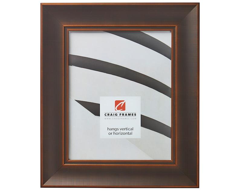 Craig Frames Metropolis 200 24x30 Inch Antique Bronze Picture Frame 102392430