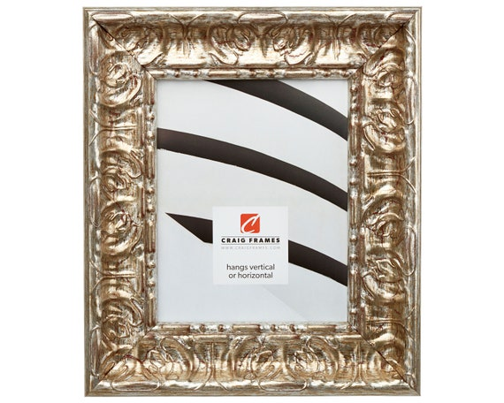 Craig Frames 20x30 Inch Rustic Silver Picture Frame Arqadia Etsy