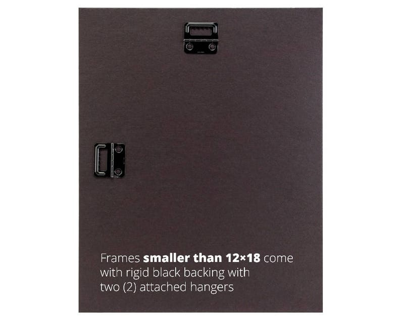 8x12 Inch Black Pine Wood Picture Frame 773329050812 American Classic 1.75 Wide Craig Frames