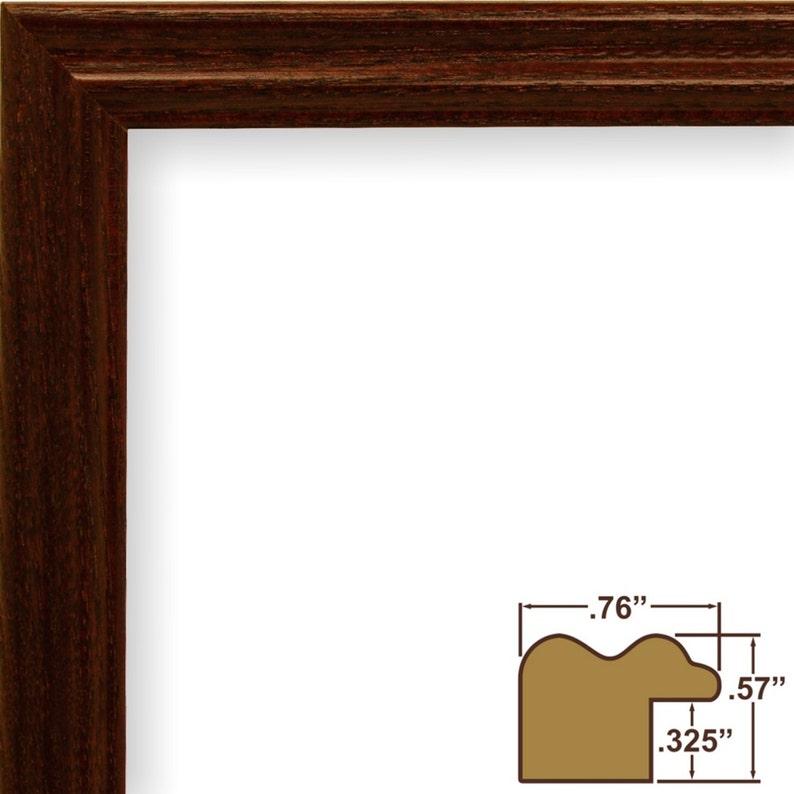 .75 Wide 200ASHCH1420 14x20 Inch Dark Cherry Picture Frame Wiltshire 200 Craig Frames