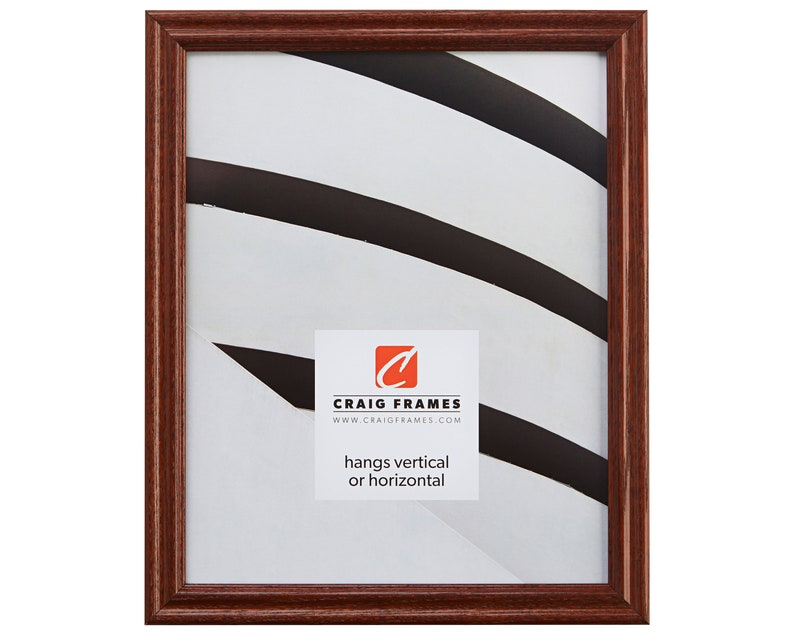 Wiltshire 200 23x33 Inch Dark Walnut Brown Solid Wood Picture Frame Craig Frames .75 Wide 200ASH2162333