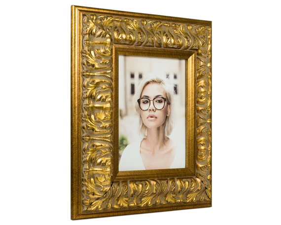 Craig Frames 22x28 Inch Antique Gold Picture Frame Barroco