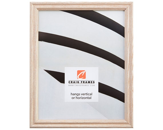 Craig Frames 5x7 Inch Whitewashed Wood Picture Frame Etsy