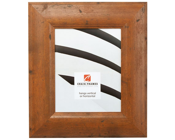 Craig Frames 22x28 Inch Rustic Light Walnut Picture Frame