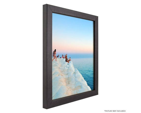 Craig Frames 10x13 Inch Modern Charcoal Black Picture Frame Colori