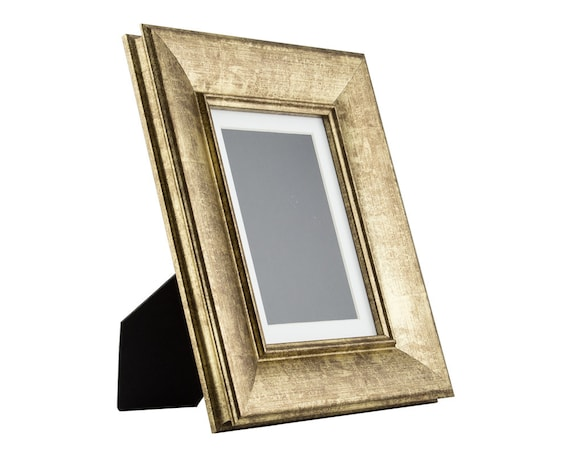 Craig Frames 5x7 Inch Vintage Gold Standing Picture Frame Etsy