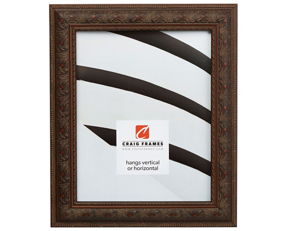 Craig Frames 12x18 Inch Antique Mahogany Picture Frame Etsy