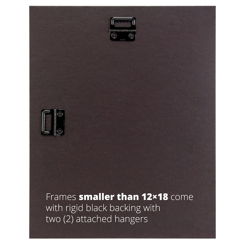 2-Inch Contemporary Upscale Craig Frames 760040812 8x12 Inch Distressed Walnut Brown Picture Frame