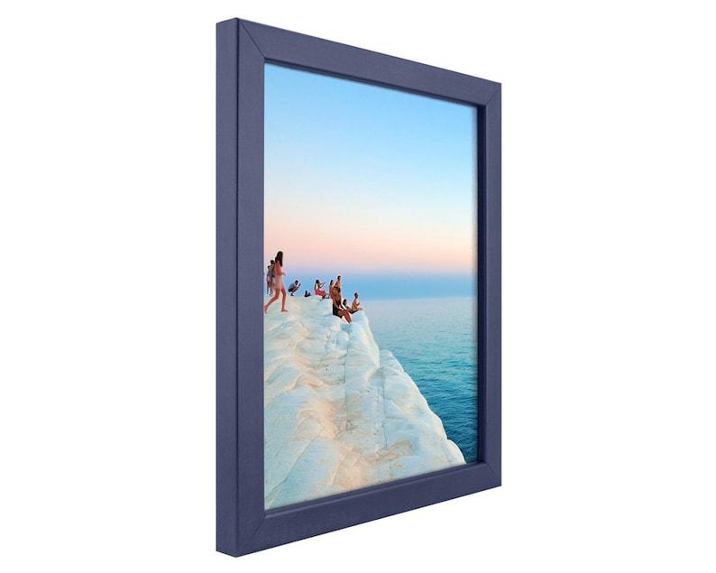 Craig Frames 0.75 Modern Blue Picture Frame 20x24 Inch 720252024 Colori