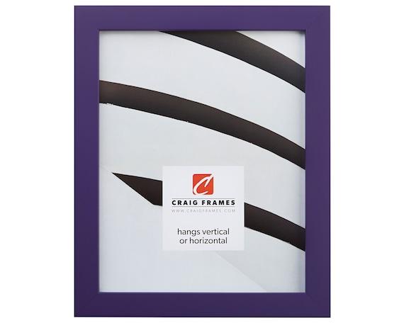 Craig Frames 12x18 Inch Modern Purple Picture Frame   Etsy