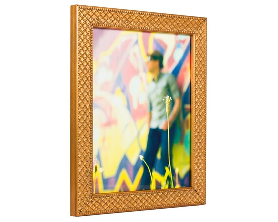 Craig Frames 11x14 Inch Antique Gold Picture Frame Lenox Etsy