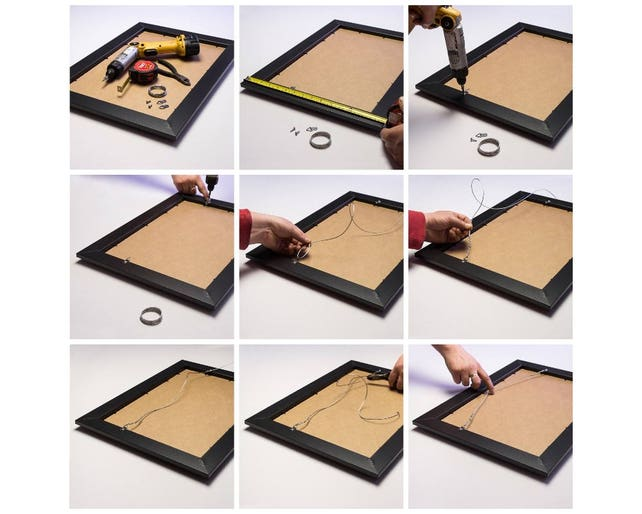 Craig Frames 7171610BK 24 by 36-Inch Picture//Poster Frame, Wood ...