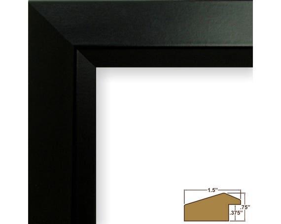 Craig Frames 14x20 Inch Modern Satin Black Picture Frame   Etsy
