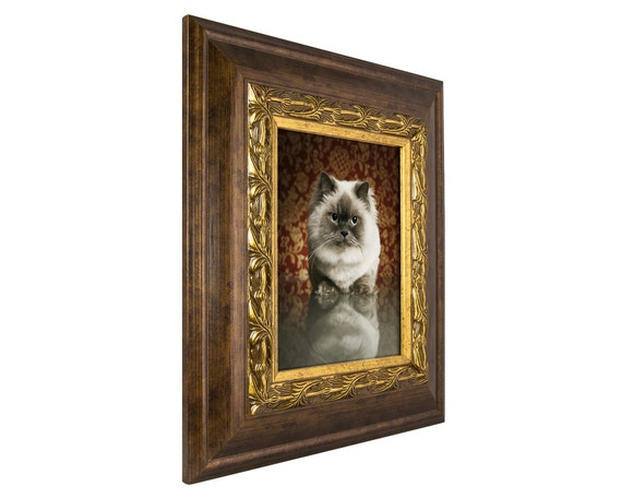Craig Frames, 22x28 Inch Gold and Bronze Picture Frame, Gotham, 3.5 ...