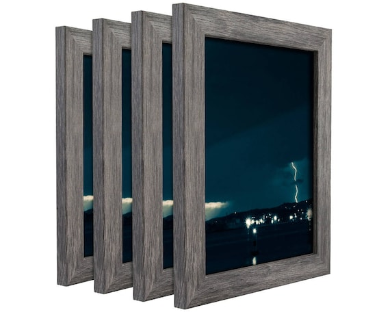 Craig Frames Weathered White 1.25 Inch Rustic Primitive Picture Frame