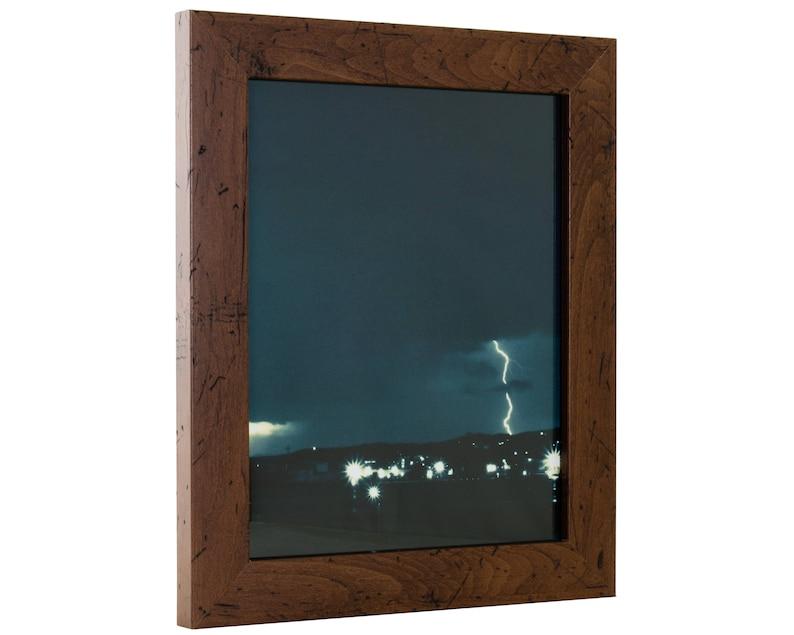 19x25 Inch Modern Dark Walnut Picture Frame Craig Frames Bauhaus 1.25 Wide FM26WA1925