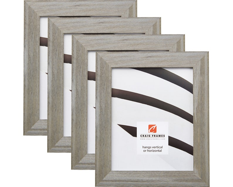Square Sizes Craig Frames American Classic Weathered Green Wood Picture Frame