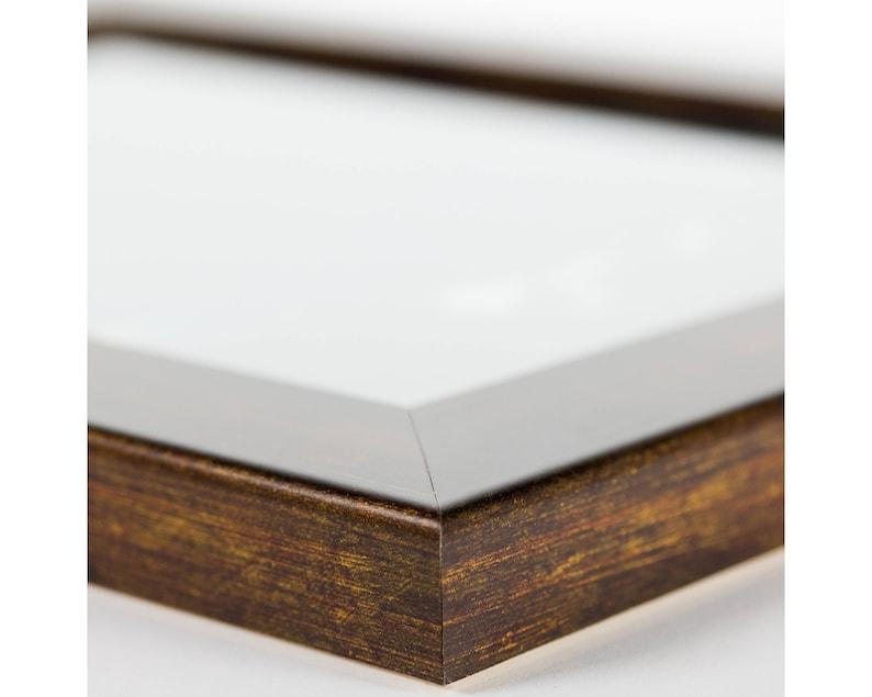 263041216 12x16 Inch Modern Aged Copper Picture Frame Craig Frames Bauhaus 1.25 Wide