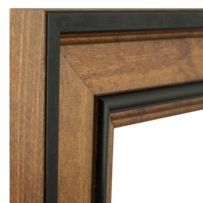 Craig Frames Prairie 2 24x36 Inch Solid Wood Country Brown Picture Frame 808270112436