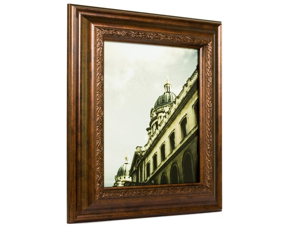 Craig Frames 85x11 Inch Smoked Bronze Picture Frame Etsy