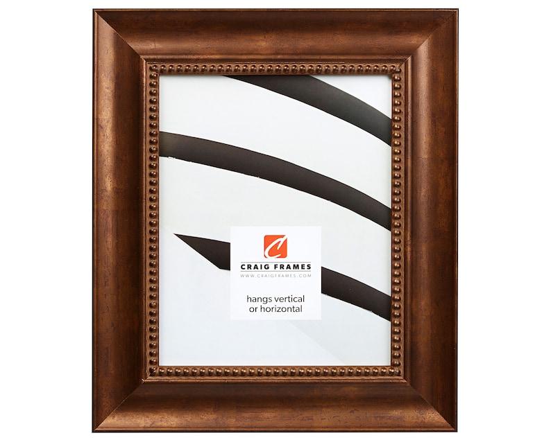 Impression 2.125 Wide 12x18 Inch Antique Bronze Ornate Picture Frame Craig Frames 96711218