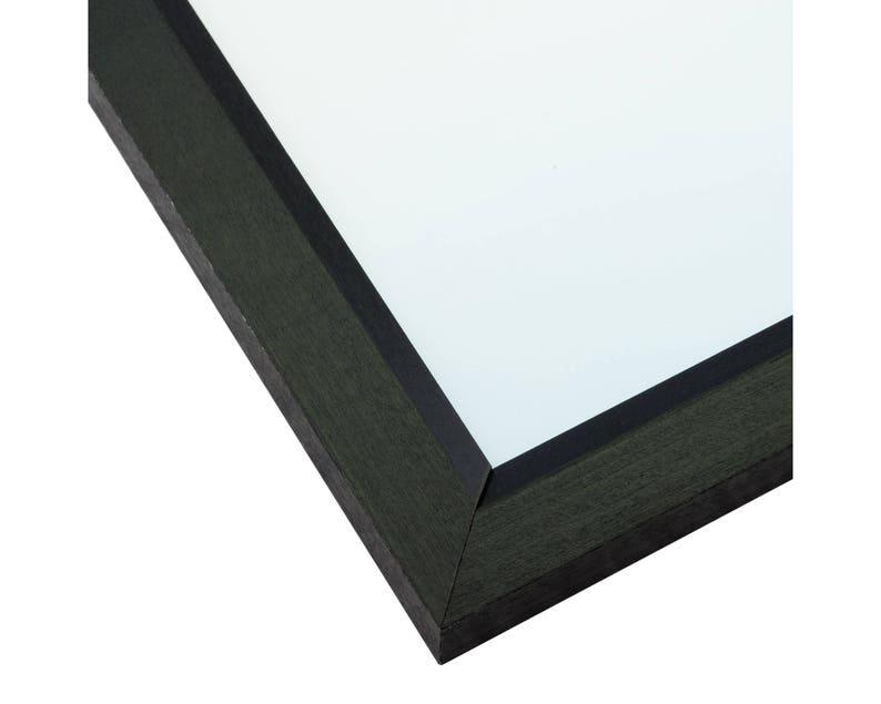 14x20 Inch Black Picture Frame Economy 1 Wide Craig Frames 7171610BK1420